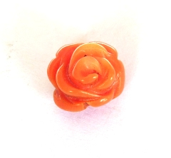Rose de Corail Orange 10mm