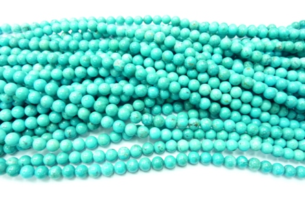Turquoise Rond Ø6mm
