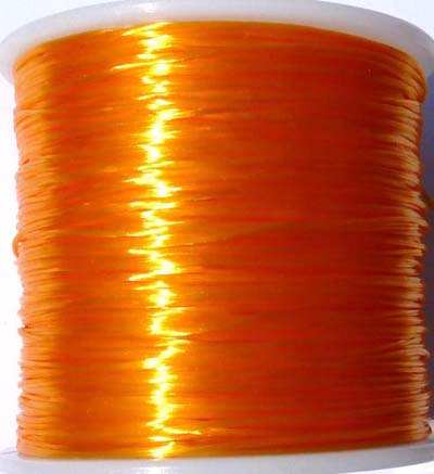 Elastique multi-brins Ø0.8mm de couleur orange