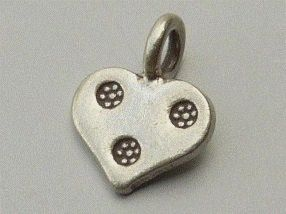 PPA12  Pampille Pendent Argent  925  Forme  Coeur