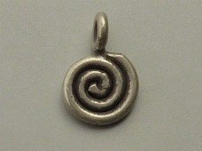 PPA44  Pampille Pendent  Argent 925  Forme Serpent