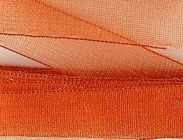 Ruban Organza 15mmX5m 3€ Orange